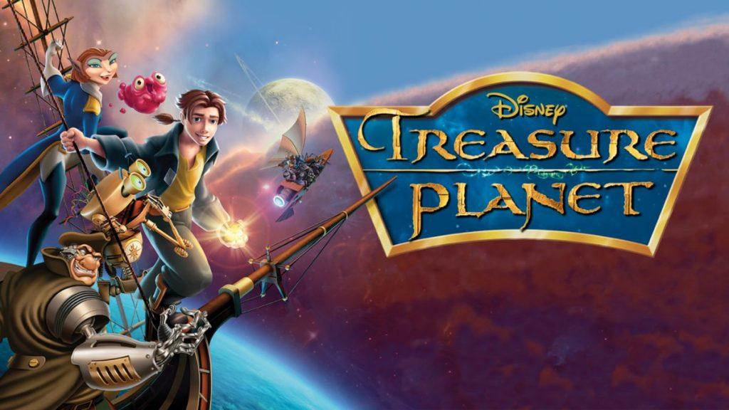 Плакат на планетата на съкровищата (Disney+)